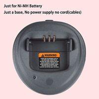 Base No Power Supply For Motorola Cp150 Portable Radio Ni-mh Battery Charger