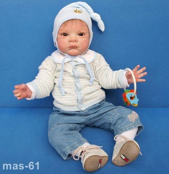 Grant doros enanos muñeca kit michele fagan Reborn Baby reallife Doll