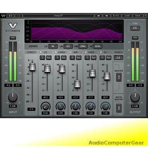 Waves-VITAMIN-SONIC-ENHANCER-Audio-Software-Plugin-Exciter-NEW