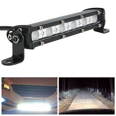 7Inch 36W IP67 LED Work Light Bar Flood Lamp For Driving Car SUV Boat Truck