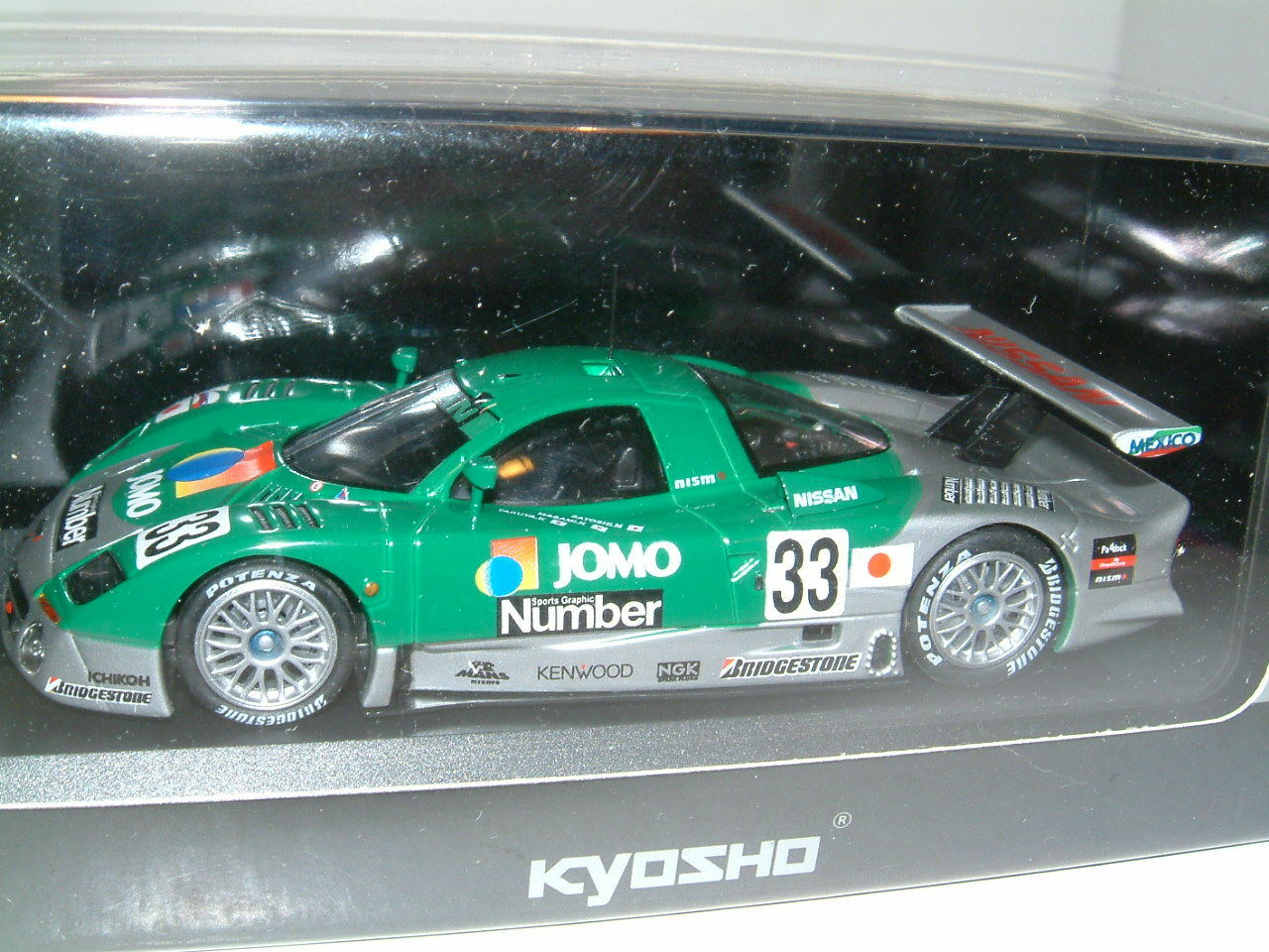 1 43 NISSAN R390 GT1 JOMO 1998 JAPAN GT, KYOSHO LIMITED EDITION