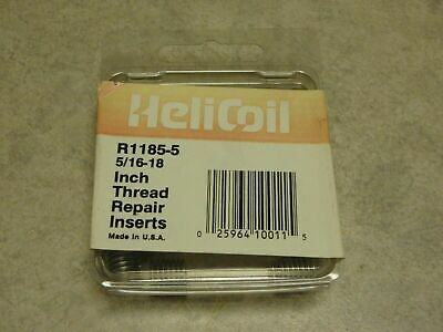 Helicoil Thread  Inserts 5//16-18 x.469 12 Inserts NEW