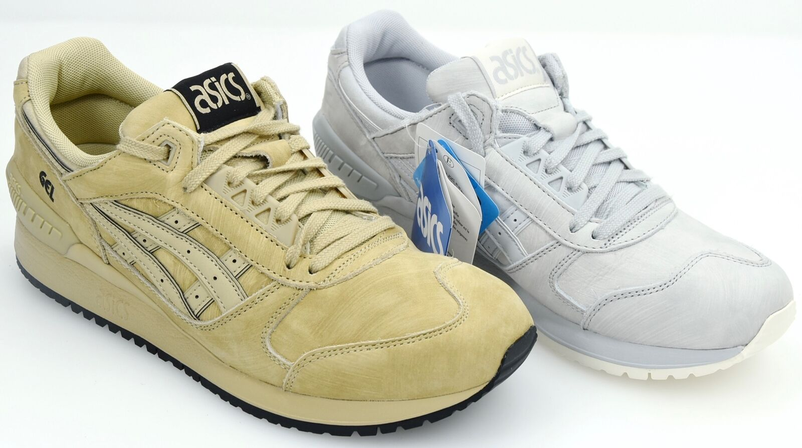 ASICS MAN FREEE TIME CASUAL SNEAKER SHOES SUEDE CODE HL7Z4 GEL-RESPECTOR