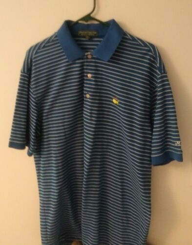 Masters Collection Men's Large polo with stripes..