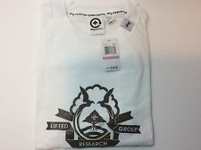 Men's Short Sleeve T-Shirt Lifted Research Group LRG White Graphics NWT XXXL 3XL