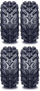 4 Interco Swamp Lite ATV Tires Set 2 Front 24x9-10 & 2 Rear 24x11-10 SwampLite