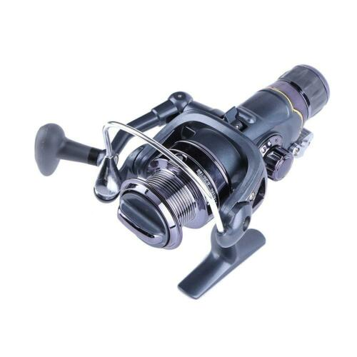 7E Fishing Reel Carp Spinning Reel Carbon Front and Rear Drags 3BB Reel 20RF