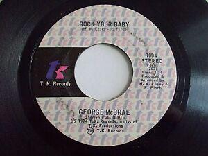 George-McCrae-Rock-Your-Baby-45-1974-TK-Soul-Vinyl-Record