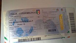 italia lussemburgo amichevole non disputata rarissimo - Italia - italia lussemburgo amichevole non disputata rarissimo - Italia