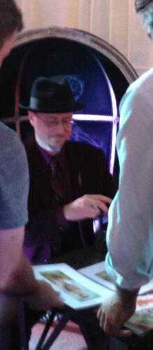 MARK RYDEN  PINZIT BOOK SIGNING @TASCHEN QUEEN BEE EVENT CARD THE GAY 90/'S RARE