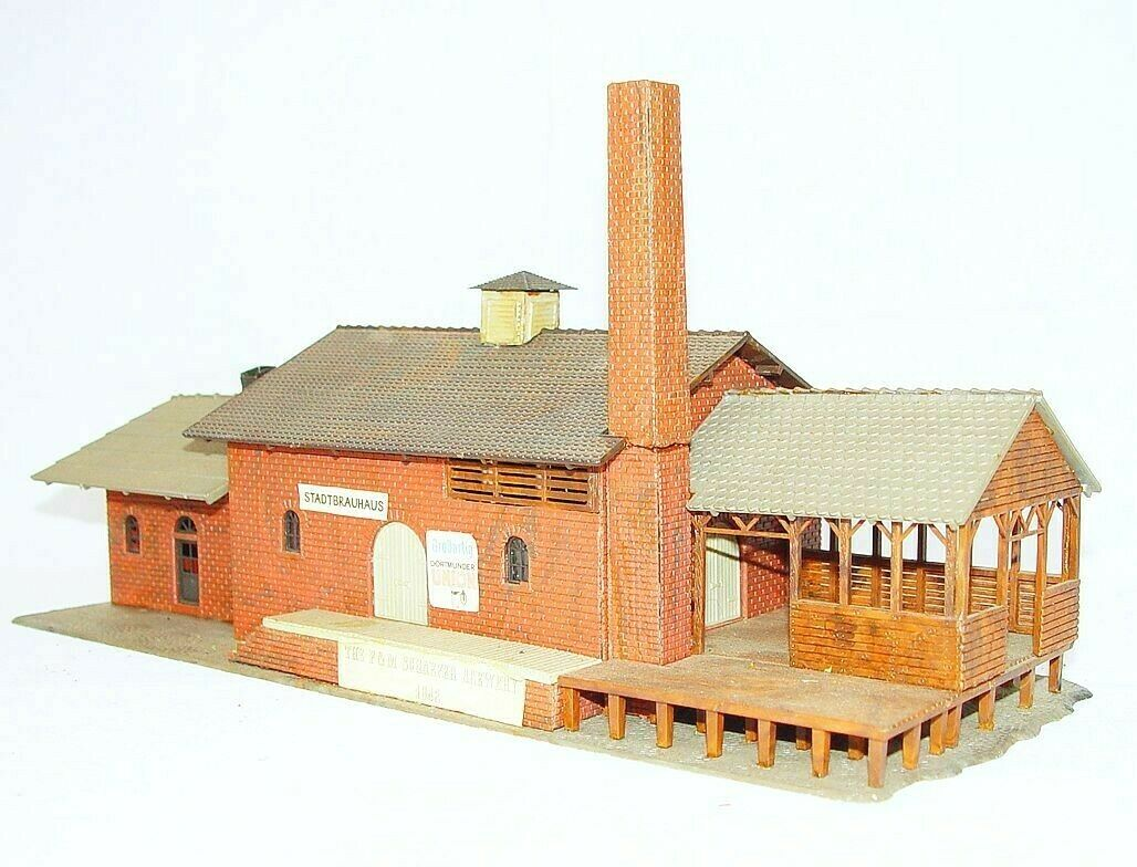 ofreciendo 100% Modelo energía Ho 1 87 el edificio F&M Schaefer Cervecería Cervecería Cervecería listo construido Casa Kit  casi PERFECTO estado   precios bajos todos los dias