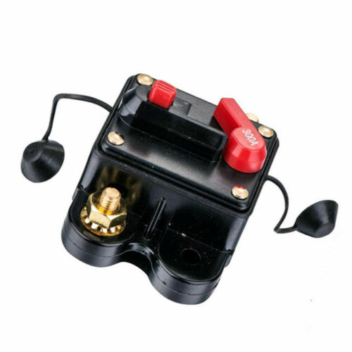 12V-24V DC Circuit Breaker Inline Fuse Inverter Waterproof Manual Reset80 Amp