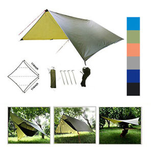 Waterproof-Outdoor-Camping-Tents-Tarp-Sun-Shelter-Rain-Cover-Tarptent-Camp-Gear
