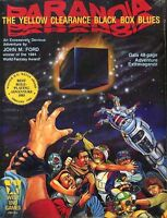 Paranoia The Yellow Clearance Black Box Blues Sealed Roleplaying Game Module