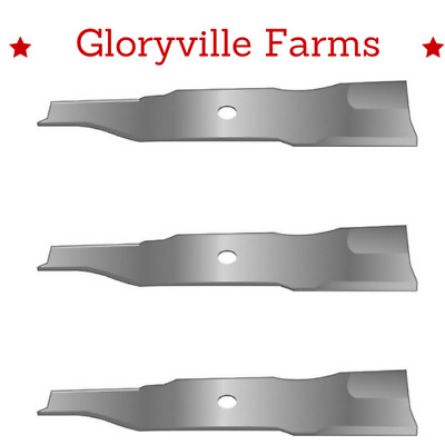 "3 Pack 48"" Mower Blade Fits Cub Cadet Zero Turn Z Force 1004772 (11564)"