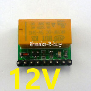 12V-2A-DPDT-Relay-Board-HK19F-PCB-Module-for-Motor-LED-Quadcopter-Toy-car-stereo