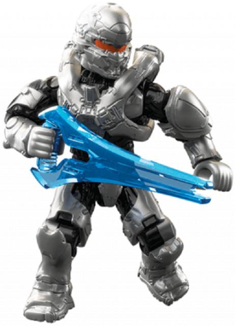 Mega Contrux Halo Stormbound SPARTAN HUNTER Figure Sealed W// BONUS WEAPON CHEST