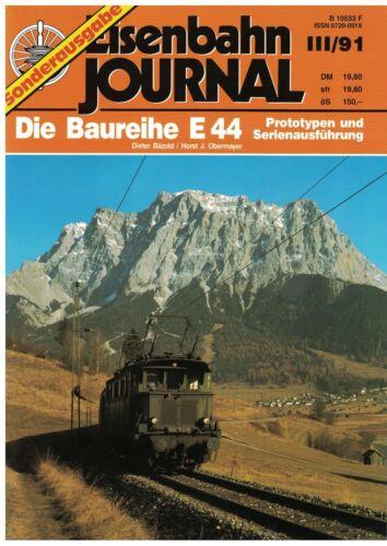 Eisenbahn-Journal Sonderausgabe 1991 Die Baureihe E44 III