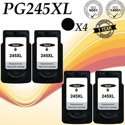 3pk PG245XL Bk /& CL246XL Ink Cartridge For Canon PIXMA MG2924 MX490 MX492