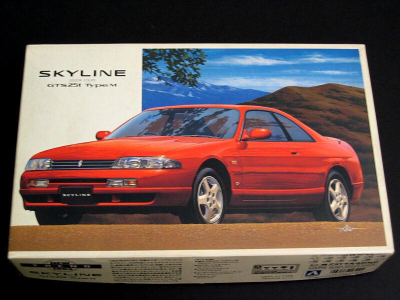 1 24 Japan Aoshima Nissan Skyline GT-S 25t Typ M Plastic Model Kit
