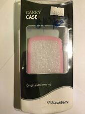 BlackBerry Pearl 8110 Silicon Skin Case Cover in Light Pink BBY-S81P Original.