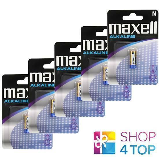 5 maxell Alkaline lr1 lr01 n kn am5 batteries 4001 Exp 2022 new