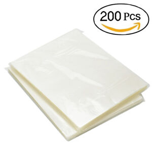 200-Pack-Thermal-Laminating-Pouches-3-Mil-Heat-Seal-A4-Letter-Size-9x11-5-Sheets