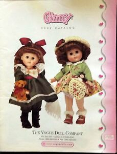 GINNY COLLECTORS DOLL CATALOGUE MAGAZINE BACK ISSUE  2002  19 pgs - Richardson, Texas, United States - GINNY COLLECTORS DOLL CATALOGUE MAGAZINE BACK ISSUE  2002  19 pgs - Richardson, Texas, United States