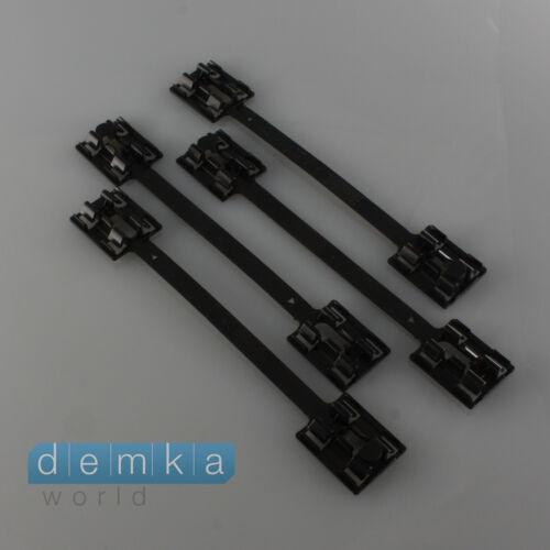 4x OPEL Astra G Clip Einstiegverkleidung Clips Halterungen Seitenleiste 9174457