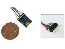 ESU 54687 - LokPilot micro V4.0, MM/DCC/SX, 6-pol. NEM 651 mit Kabel - Spur N