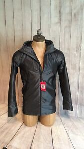Sportswear Windrunner Black Parka Xs Nike Extra Small 010 Hombres Bonded 805112 gqndxO