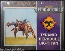 1995 Epic sarcófagos Bio Titan HIERODULE Juegos taller Warhammer army 6mm 40K MIB