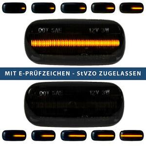 2x-Dynamische-14-LED-Seitenblinker-fuer-AUDI-A3-A4-A6-A8-TT-Laufblinker-E-Pruefzei