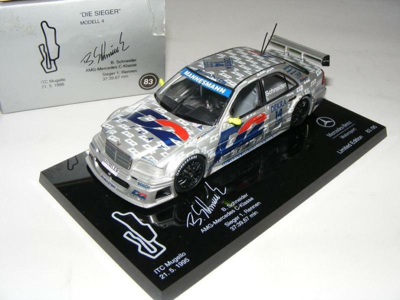 Minichamps AMG Mercedes C ITC 95 Die Sieger 4