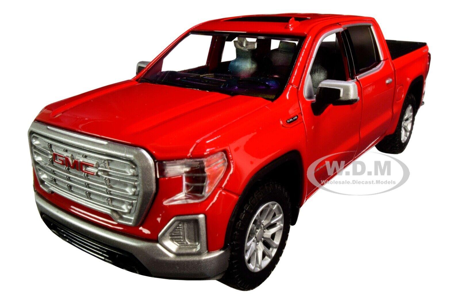 MOTORMAX 1//27 2019 BLACK GMC SIERRA 1500 DENAL CREW CAB PICKUP DIECAST  79362BLK