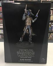 Star Wars Cad Bane Gentle Giant Statue Limited Edition RARE! 620/850