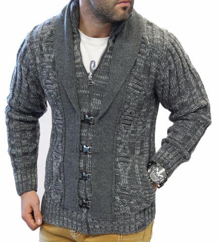 Homme Pull Maille Chaud Veste Pullover L8 Épaisse Stickpullover 3 Jeel Tricotée fwddCBq