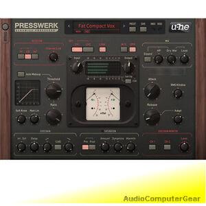 u-he-PRESSWERK-Dynamics-Processor-Compressor-Audio-Software-Effects-Plug-in-NEW