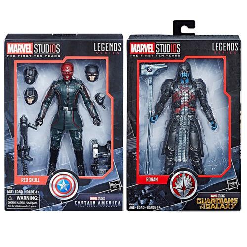 "Marvel Legends 10th Anniversary 6/"" Figure Red Skull /& Ronan 2pk Set In-Hand"