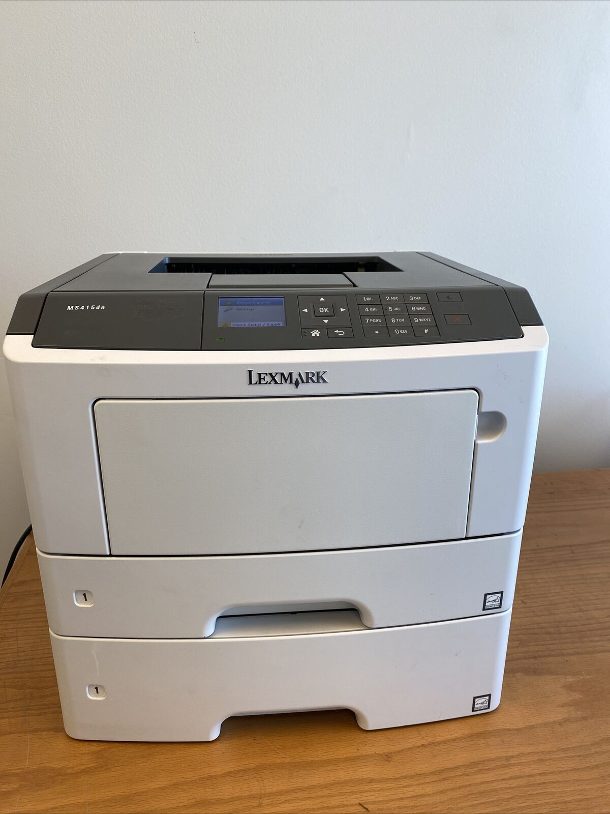 Refurbished Lexmark MS415DN laser printer w/dual trays Legal, Letter Network,USB. Buy it now for 249.99