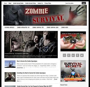 ZOMBIE-SURVIVAL-blog-website-business-for-sale-w-Daily-AUTO-CONTENT