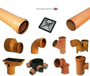 Underground Drainage 110 mm Single Bottle Gully