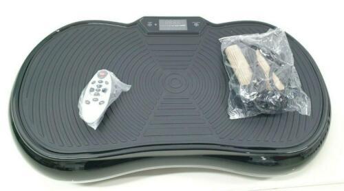 Bluefin Fitness Ultraflache Vibrationsplatte mit Leisem 1000-Watt Motor *TOP*