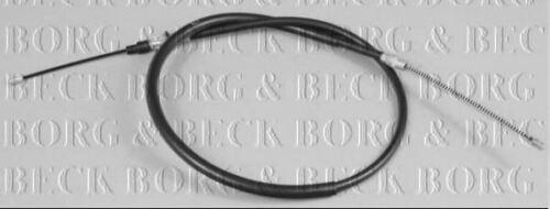 BORG /& BECK HANDBRAKE CABLE FOR A RENAULT MASTER BUS 2.5 84KW