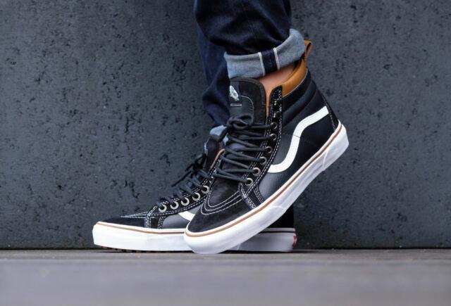 6d3dc85939 VANS Sk8 Hi MTE Black True White Skate Mens Size US 8.5 Vn000xh4dx6 ...