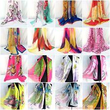 US SELLER |lot of 5 Wholesale Scarves retro vintage bohemian chiffon scarf