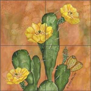Southwest-Tile-Backsplash-Prickley-Pear-Cactus-by-Sara-Mullen-SM108