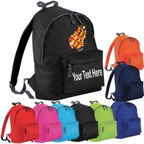 Personnalisé prestonplayz Pizza Flame Kids Sac de jeu youtuber School Sac à dos