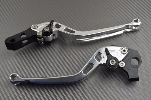 Long brake clutch levers pair CNC titanium Yamaha YZF 750 Exup 1994 95 96 97 98