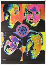 """RED HOT CHILI PEPPERS POSTER """"4 FACES"""""""